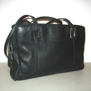 Moving Sale!  Hush Puppies Bag Black Leather #3367